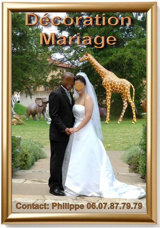Location de décoration mariage Africain.
